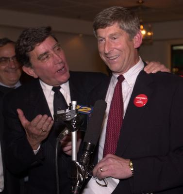 Rogowsky shown here with former County Executive Andy Spano.