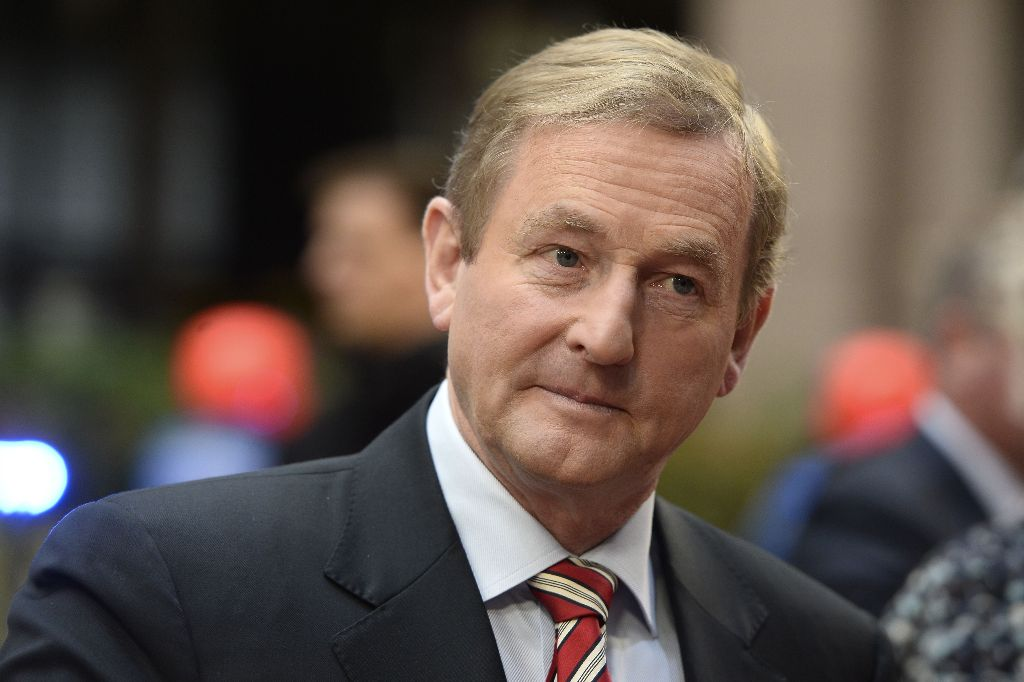 Irish Prime Minister Enda Kenny (Photo by AFP)
