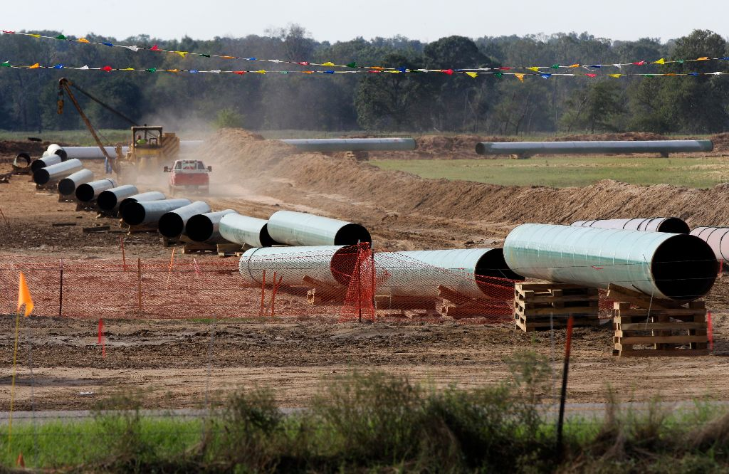 Keystone Pipeline (AP photo)