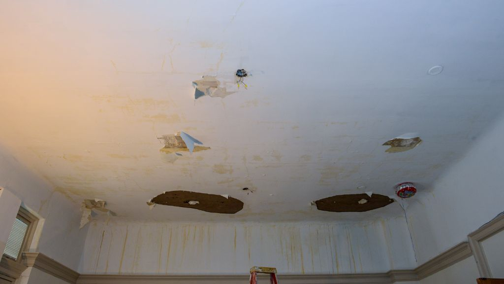 Water damage at City Hall. Photo courtesy/city of Yonkers