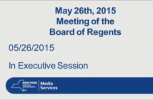 Board of Regents meeting