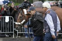 Belmont American Pharoah Arrival Horse Racing