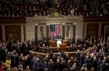 Pope Francis addresses a joint meeting of Congress on Capitol Hill in Washington, Thursday, Sept. 24, 2015, making history as the first pontiff to do so.  (AP Photo/Alessandra Tarantino) ORG XMIT: ALT101